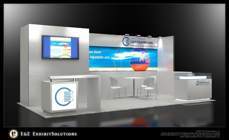 10x20 Display Rental Rent Trade Show